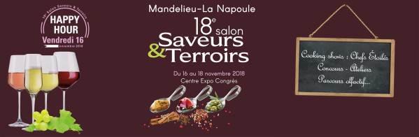 SALON SAVEURS & TERROIRS A MANDELIEU- LA NAPOULE