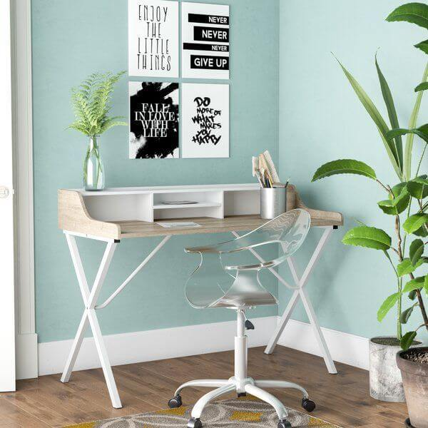 Uplifting small home office ideas ikea