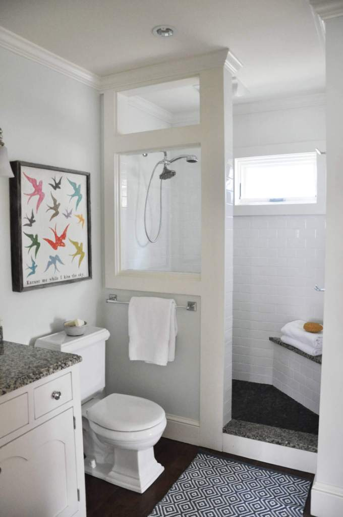 Bring New Style farmhouse bathroom