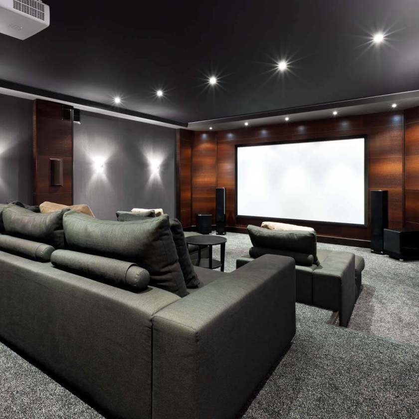 lighting ideas basement home theater