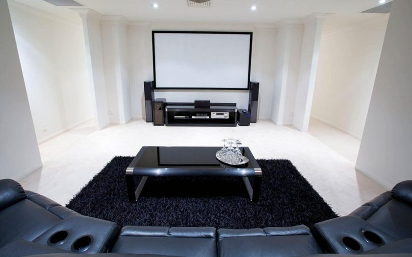 basement home theater decor