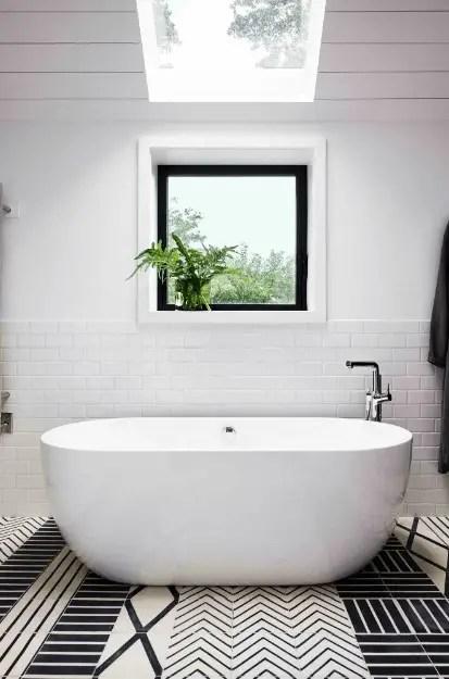 Install A Skylight For Bathroom Above Bathtub