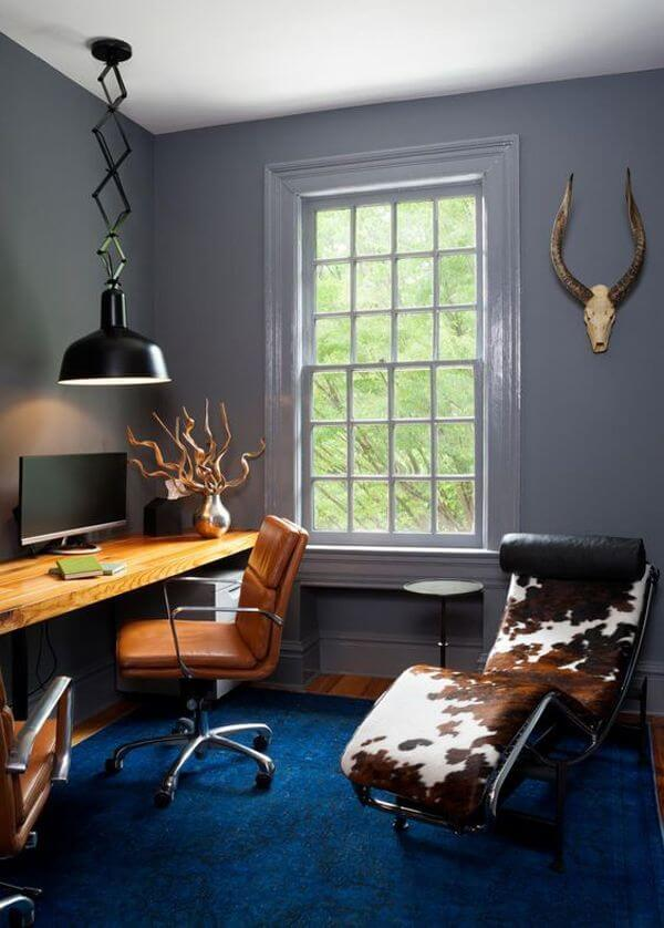 Excited masculine small home office ideas