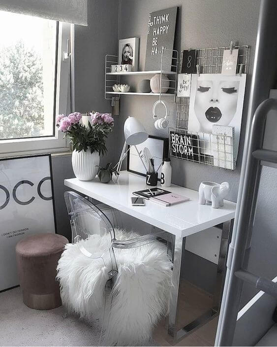 Wonderful small corner home office ideas