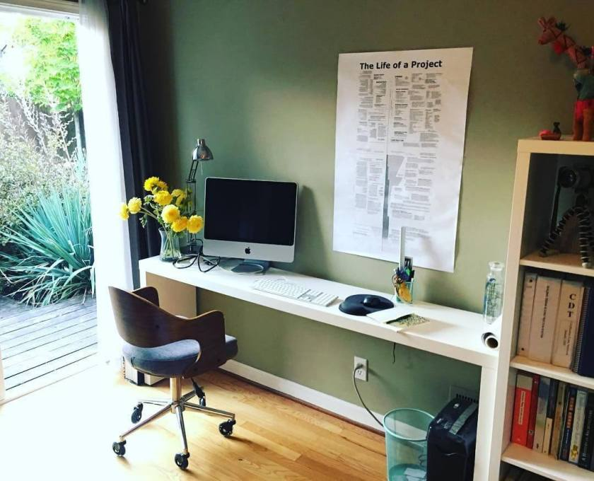 Unique small home office furniture ideas