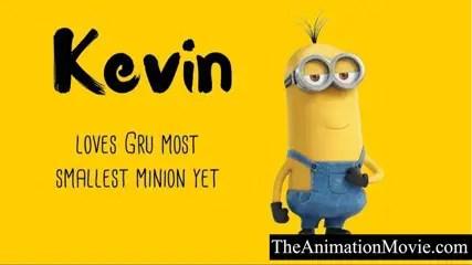 Minion Names - Kevin
