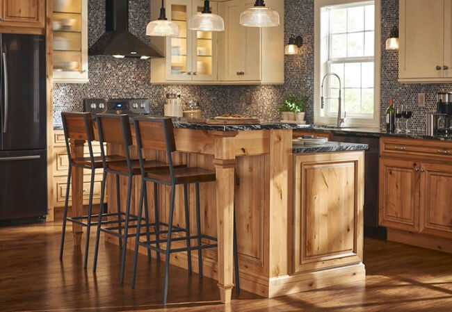 Unleash kitchen island plans with seating #kitchen #kitchenisland #kitchendesign #kitchenideas