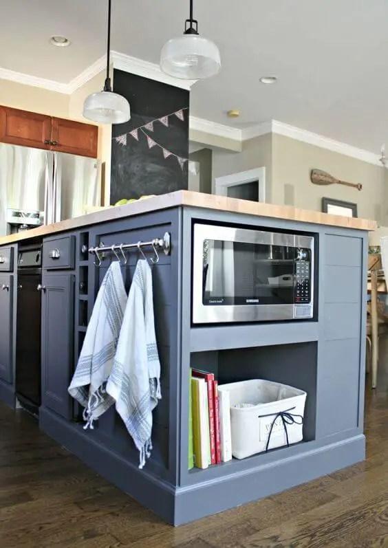 Life-changing furniture style kitchen island #kitchen #kitchenisland #kitchendesign #kitchenideas