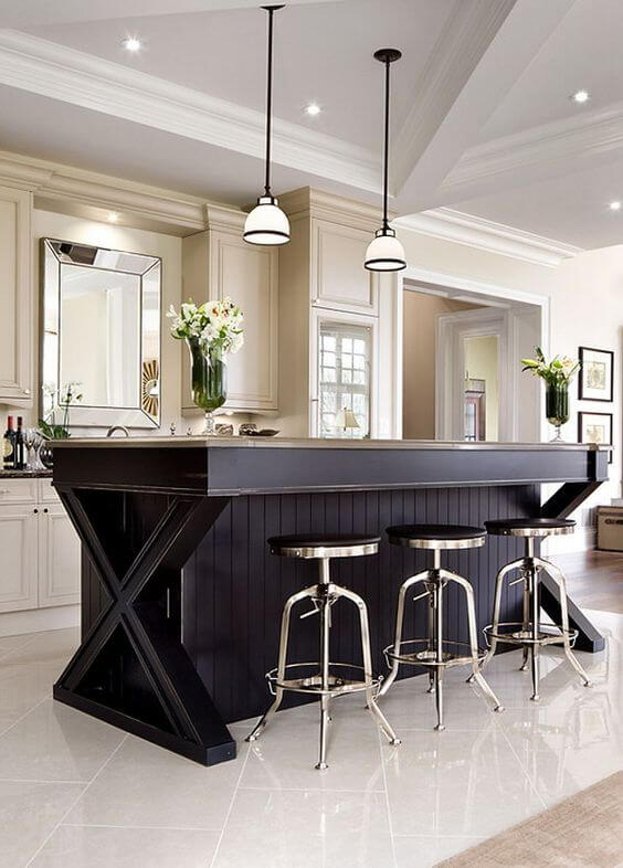 Spectacular small kitchen island with cooktop #kitchen #kitchenisland #kitchendesign #kitchenideas
