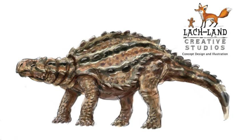 Dinosaur names - Minmi