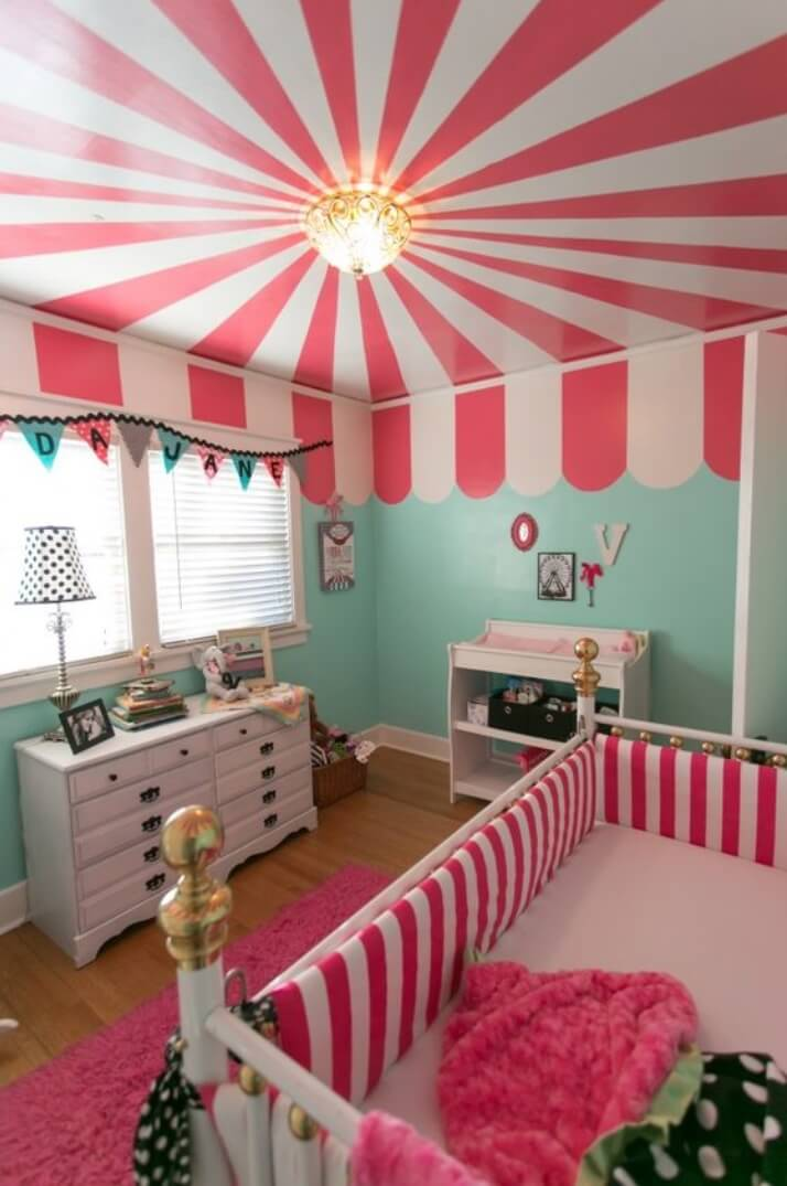 Design Of Baby Room: 50 Inspiring Nursery Ideas For Your Baby Girl
