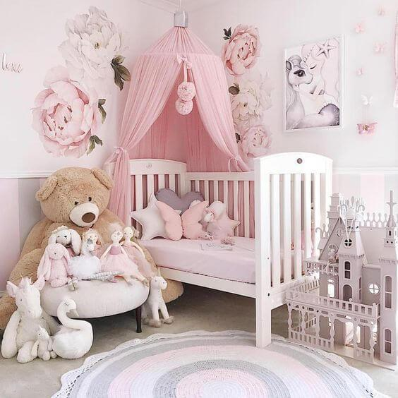 Audrey\'s Baby Girl Nursery Decor - Uptown with Elly Brown