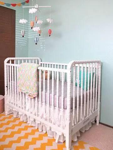 baby girl nursery color ideas