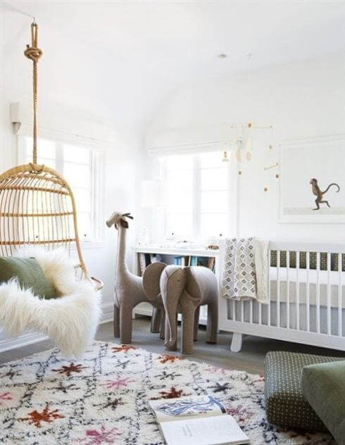 Delight baby boy nursery ideas with elephants