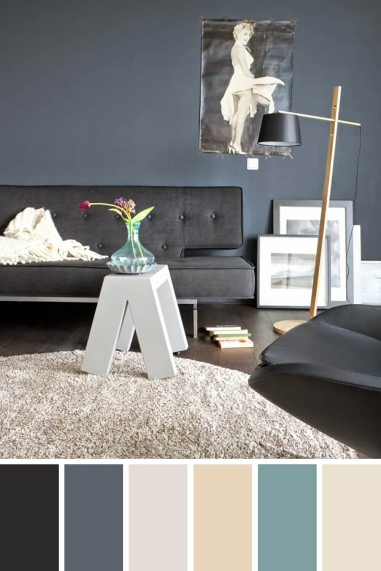 Life-changing living room color schemes for black furniture