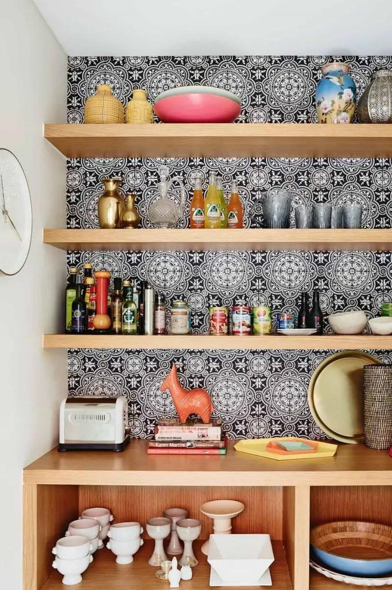 Staggering kitchen pantry storage ideas
