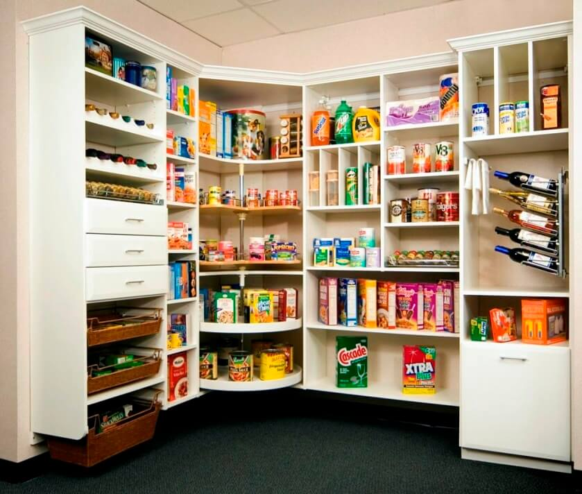 Astonishing kitchen pantry ideas for small spaces