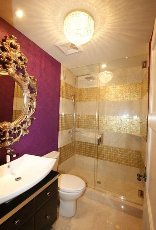 Gold Bathroom Color Schemes
