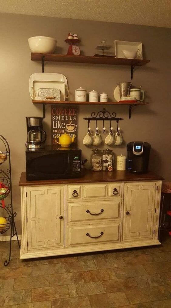 Excited diy coffee bar plans