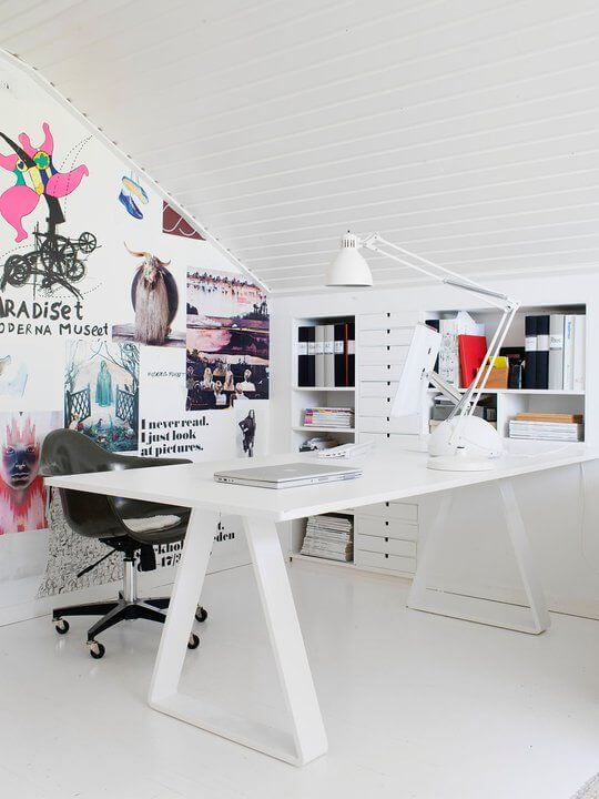 Terrific small home office paint ideas