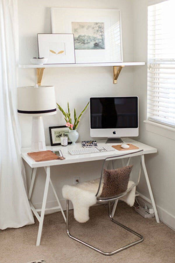 Wonderful small home office/guest bedroom ideas