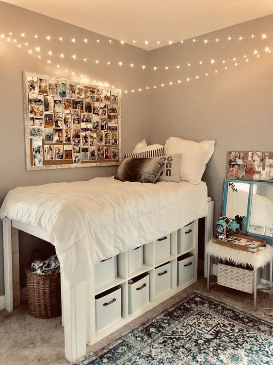 storage under the bed - small bedroom ideas