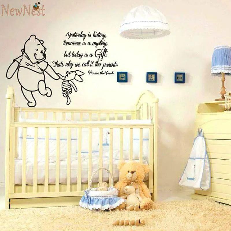 Striking baby boy nursery wall ideas