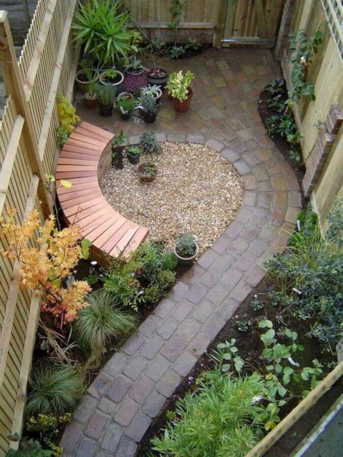 Attrayant Keep It Simple Small Backyard