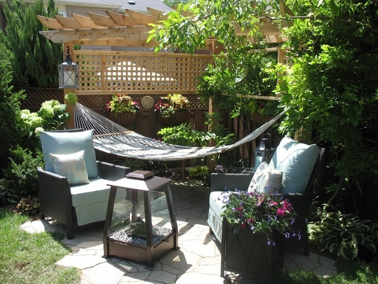 diy hammock for backyard
