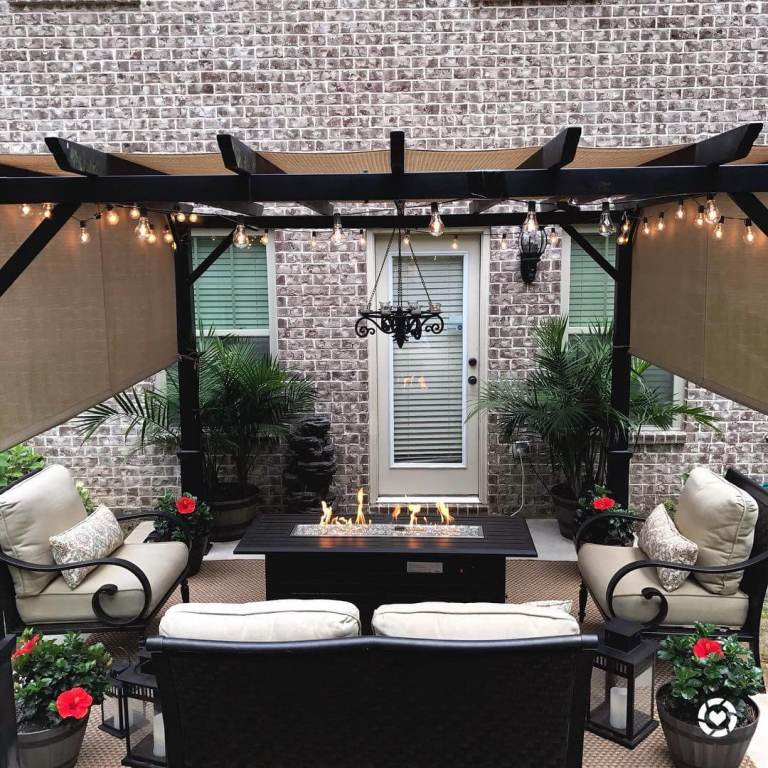 Staggering backyard patio ideas simple
