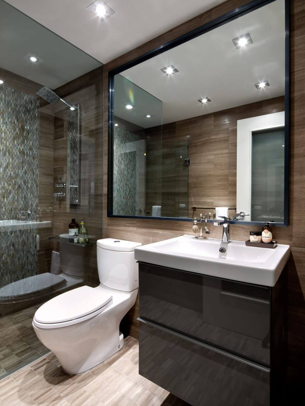 Sorting With Style & 27+ Bathroom Mirror Ideas for Small Bathroom - Unique ...