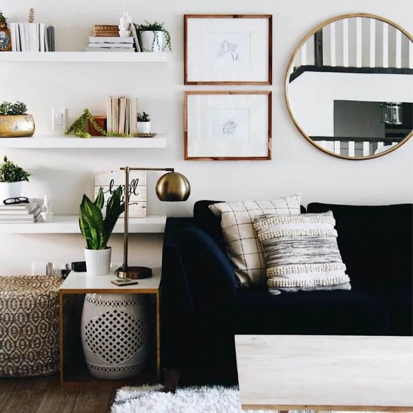 small rectangular living room decor ideas