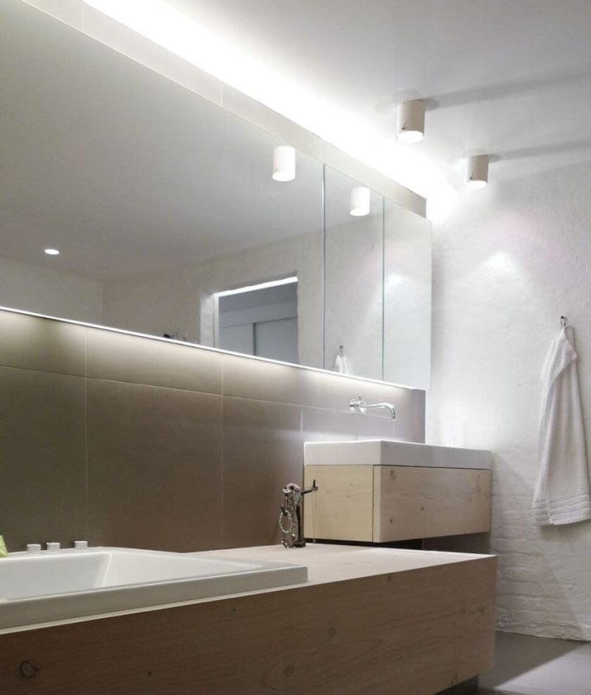 bathroom vanity light mirror modern paint colors scandinavian shower design wall mirrors