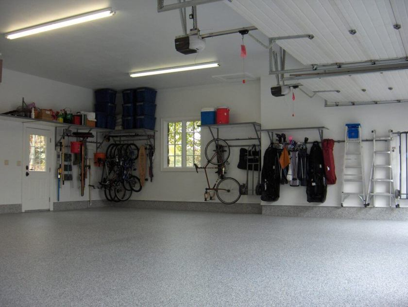 Monkey Bar Shelving Location garage storage ideas