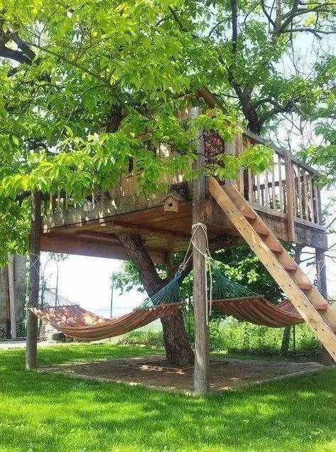 Treehouse - backyard playground ideas