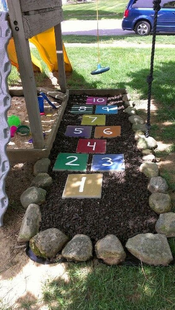 Stepping Stones Backyard