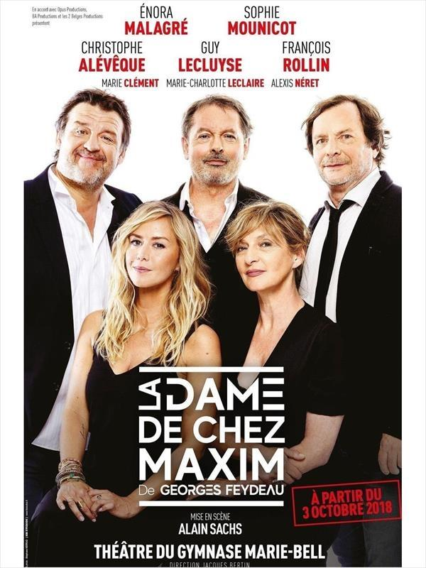 La Dame De Chez Maxim Critique : maxim, critique, Maxim, Spectacles, Grand, Paris, Télérama, Sortir