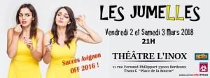 LES JUMELLES, LE 1er SOLO JOUÉ EN DUO...OU L'INVERSE ! @ L'Inox | Bordeaux | Nouvelle-Aquitaine | France