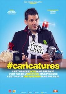 Benjy Dotti — #Caricatures @ La Grande Poste | Bordeaux | Nouvelle-Aquitaine | France