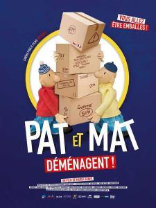 Ciné Goûter // Pat et Mat déménagent @ Cinéma Gérard Philippe | Gujan-Mestras | Nouvelle-Aquitaine | France