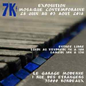 Exposition mosaïque contemporaine @ Le garage moderne | Bordeaux | Nouvelle-Aquitaine | France