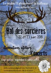Bal des Sorcières @ Jardin l'Ephémère | Bègles | Nouvelle-Aquitaine | France