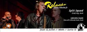 Relache #9 : Split Squad, Labretta Suede, DJ Francis Feelgood @ Sortie 13 | Pessac | Nouvelle-Aquitaine | France