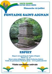FONTAINE MIRACULEUSE SAINT-AIGNAN visite guidée nocturne @ Parking de l'église | Espiet | Nouvelle-Aquitaine | France