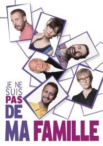JE NE SUIS PAS DE MA FAMILLE @ Espace Culturel Georges Brassens | Léognan | Nouvelle-Aquitaine | France