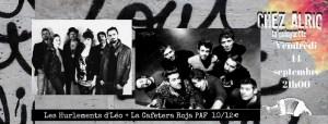 Les Hurlements d'Léo (Chanson/ Fr) + La Cafetera roja (Pop-rock/Hip-hop) @ La Guinguette Chez Alriq | Bordeaux | Nouvelle-Aquitaine | France