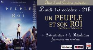 Ciné-Débat // Un Peuple et son Roi @ Centre Culturel Biganos | Biganos | Nouvelle-Aquitaine | France