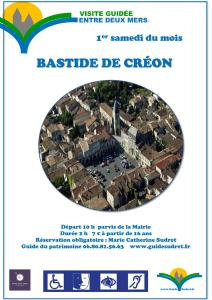 BASTIDE ANGLAISE DE CREON visite guidée @ Parvis de la mairie | Créon | Nouvelle-Aquitaine | France