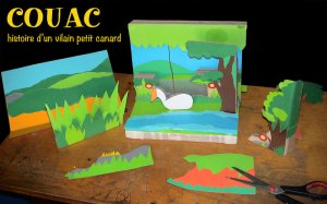 Couac – Histoire d'un vilain petit canard @ salle Latapie   La Brède   Nouvelle-Aquitaine   France