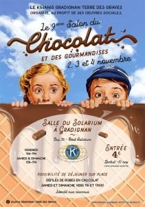 9ème SALON DU CHOCOLAT @ Salle du SOLARIUM   Gradignan   Nouvelle-Aquitaine   France